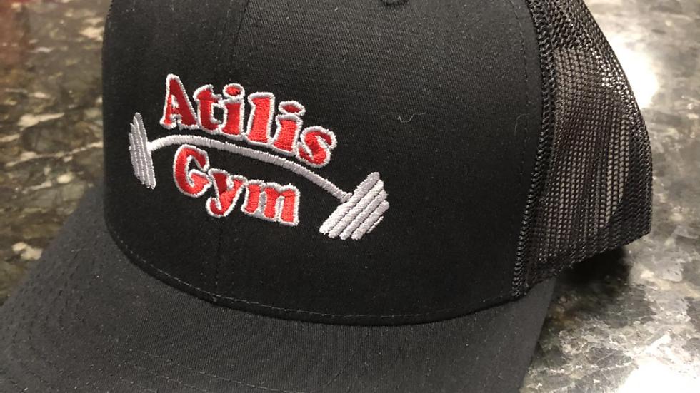 Black Trucker Baseball Mesh Hat