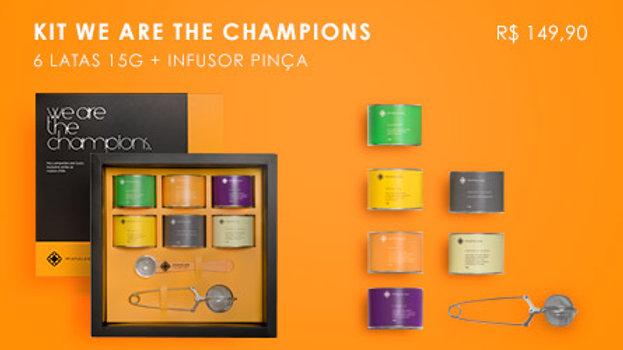 Kit We Are The Champions (Laranja)
