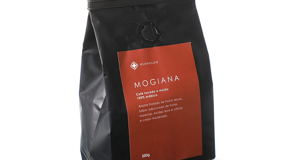 Café Mogiana Arábica EM GRÃOS - Pouch 200g