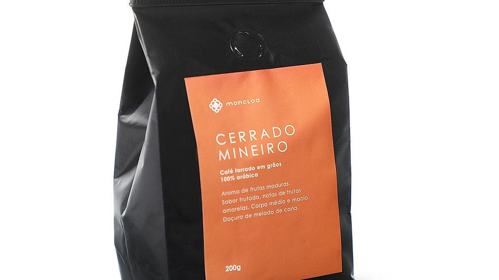 Café Cerrado Mineiro Arábica MOÍDO - Pouch 200g