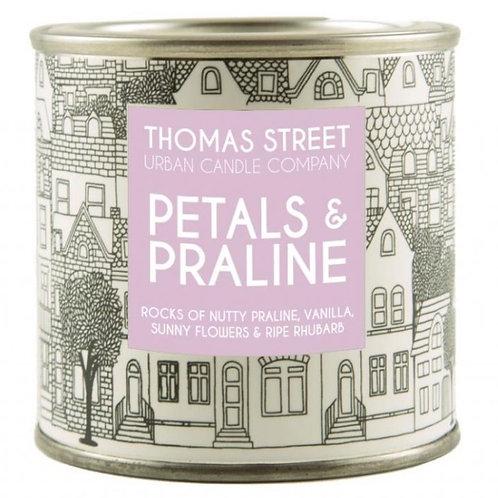 Thomas Street Petals & Praline Candle