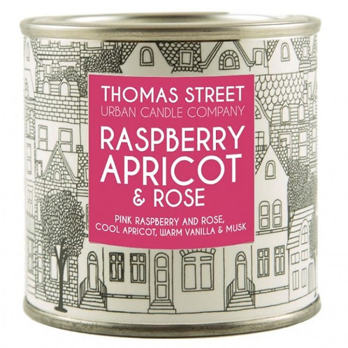 Thomas Street Raspberry Apricot & Rose Candle