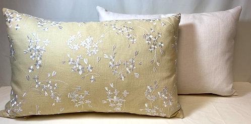 Pale Yellow Cushion