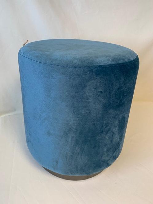Blue Pouffe
