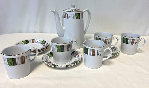 Ironstone Coffee Set