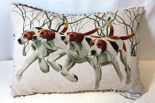 Voyage Maison Hounds Design Cushion