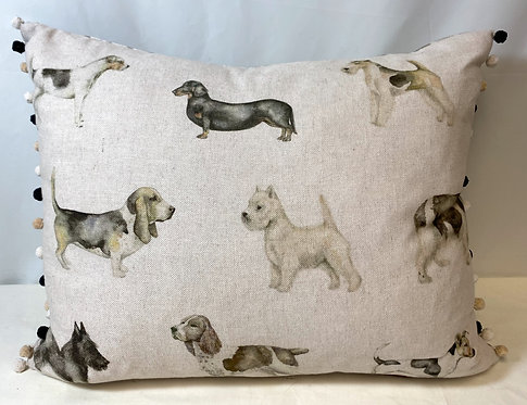Voyage Maison Small Dogs Design Cushion