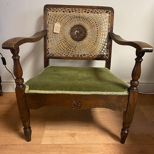 Cane-backed Chair