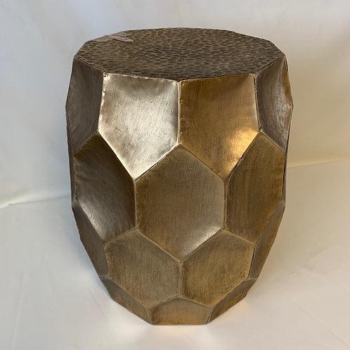 Antique Gold Kalan Side Table