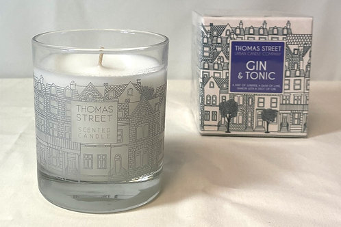 Thomas Street Gin & Tonic Glass Candle