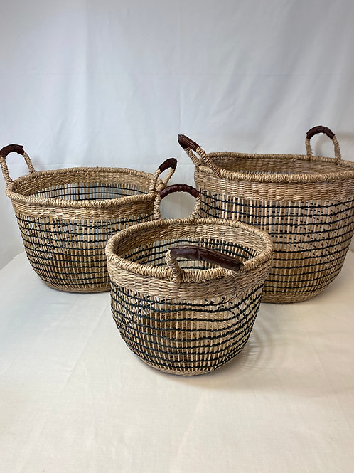 Mix of Woven Baskets