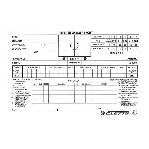 Score sheet Replacement