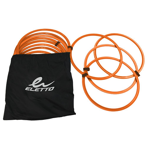 Flat Speed Ring (set of 12) with Carry Bag