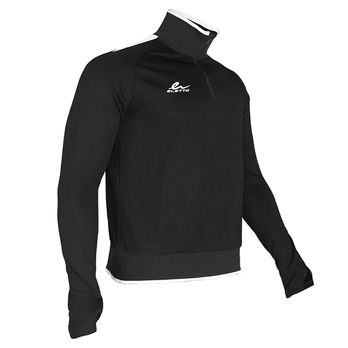 ANTHEM 1/4 ZIP JACKET BLACK