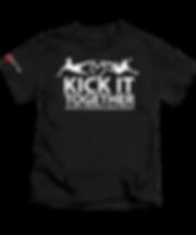 BLACK FLAT T-SHIRT-ELETTO-KICK-IT-2020.p