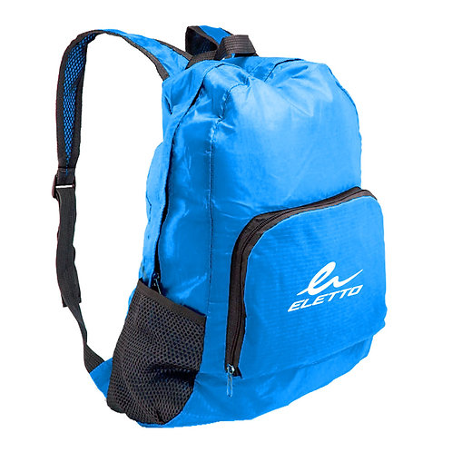 Foldable Backpack Neon Blue