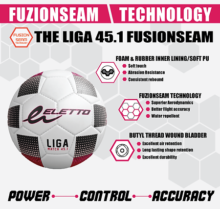 LIGA-45-FUSIONSEAM BALL