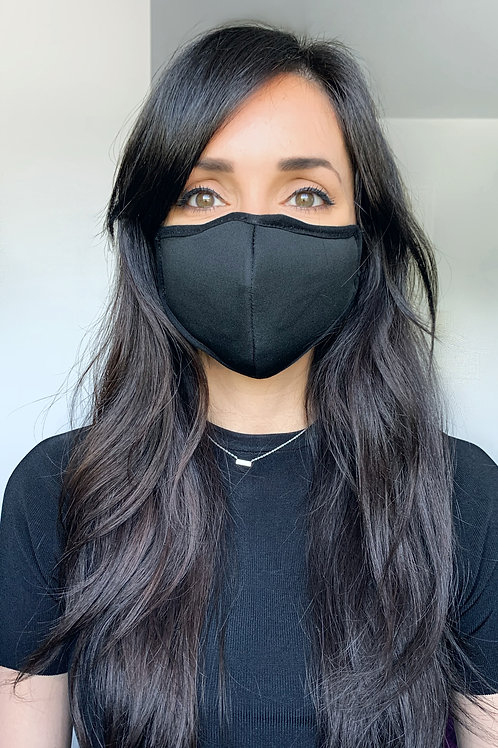 Black C3.0 Filtered (PM2.5) Mask