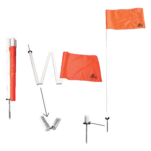 Collapsible Corner Flag