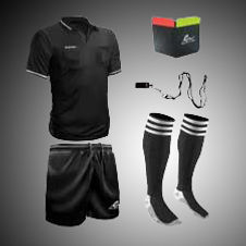 soccer referee, soccer referee uniforms, soccer referee jersey, referee clothing, ref soccer, ref soccer jersey, referee shorts, ref shorts, referee accessories, referee whistle, referee card wallet
