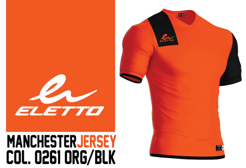 a6870fa12 Single Rib cut V-neck Soccer Jersey. Contrast piping on shoulder