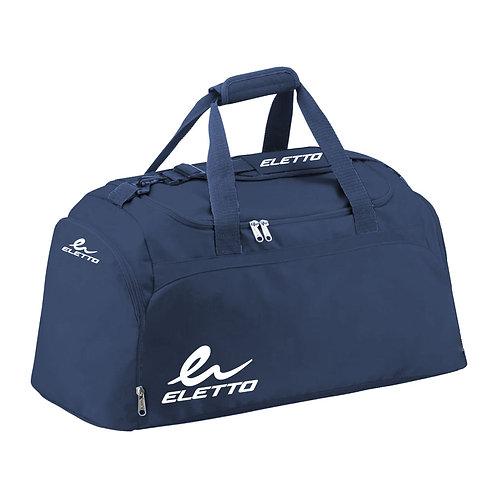 Vicenza Duffle Bag Dark Navy/White