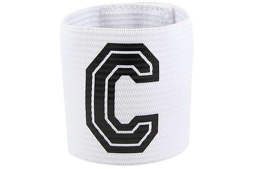 Captain Band Velcro-White