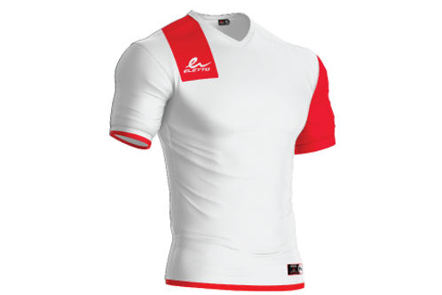 Maillot Manchester Blanc/Rouge