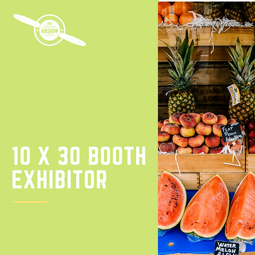 Triple Booth Exhibitor