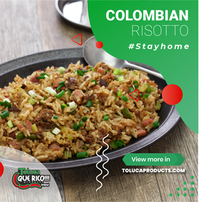COLOMBIAN RISOTTO
