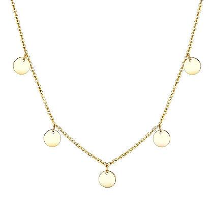 Gold 'Let's Dance' Necklace