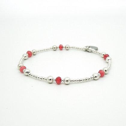 'Pink on Wednesdays' bracelet