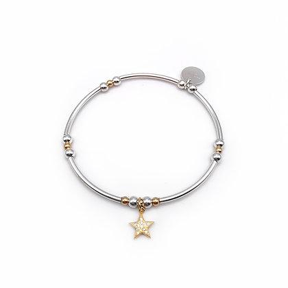 Gold Shooting Star bracelet