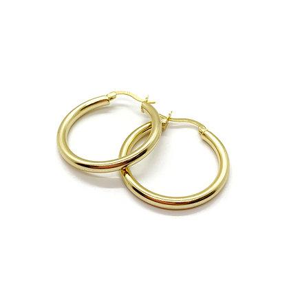 Chunky Gold hoops