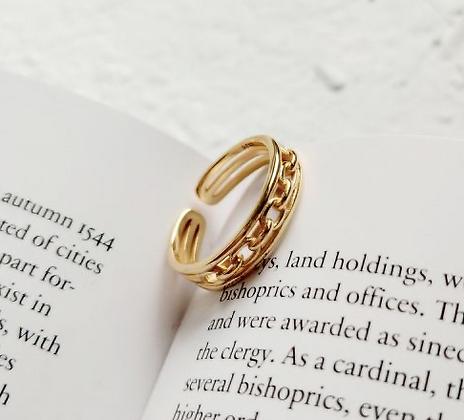 Cross Chain ring