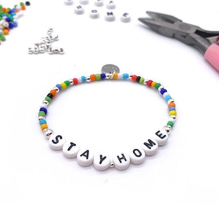NHS 'Stay Home' Bracelet