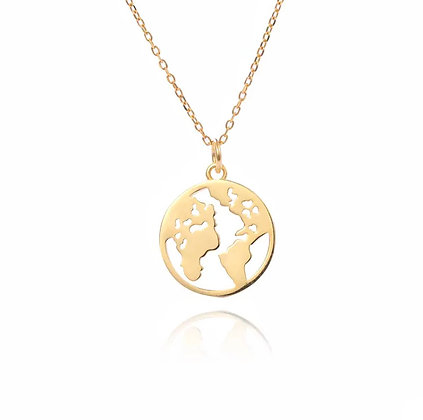 'Show me the world' Necklace