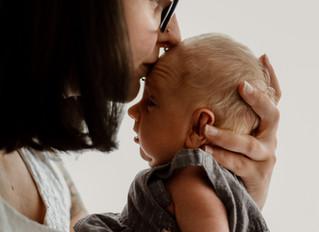 Photographe naissance naturel