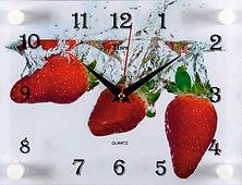 Настенные часы прямоугольной формы 30х40