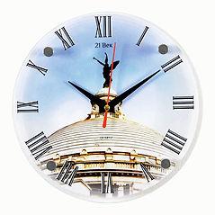Настенные часы круглой формы 30х30см..jp