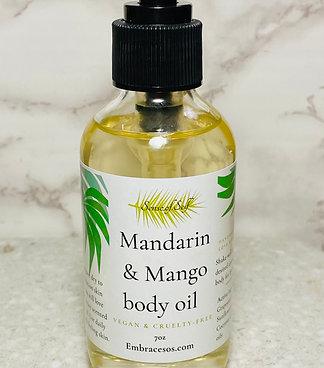 Mango & Mandarin body oil