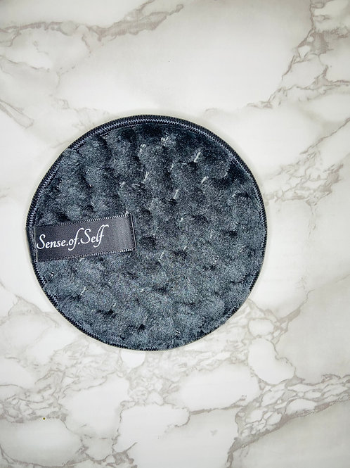 Microfiber face cleansing pad