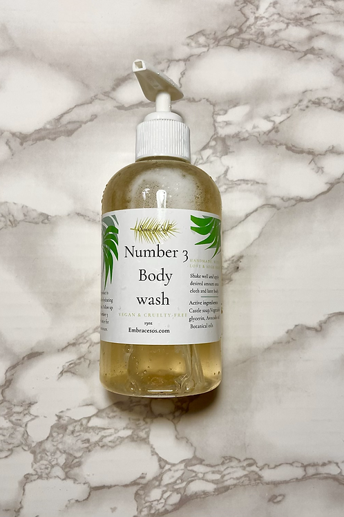 Number 3 body wash