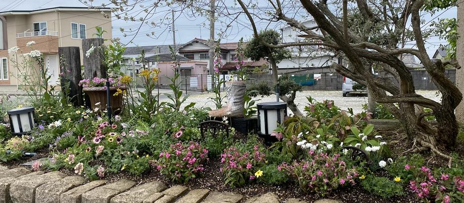 楽しいお庭仕事