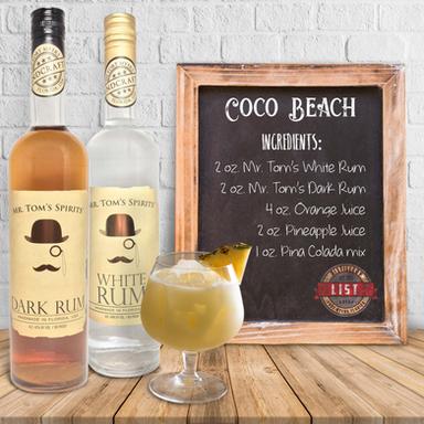 Mr. Tom's Coco Beach Coctail
