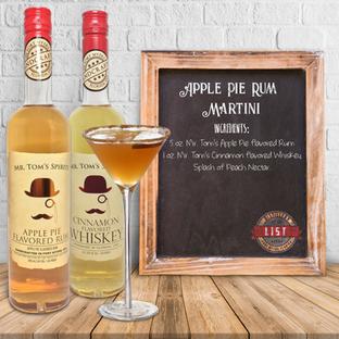 Mr. Tom's Apple Pie Martini