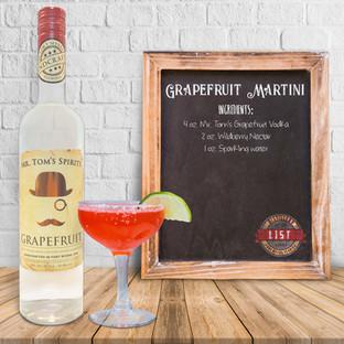 Mr. Tom's Grapefruit Martini