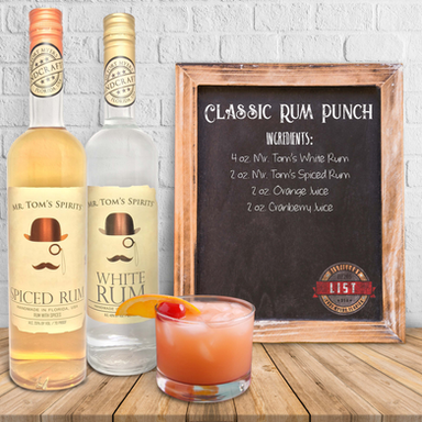 Mr. Tom's Classic Rum Punch