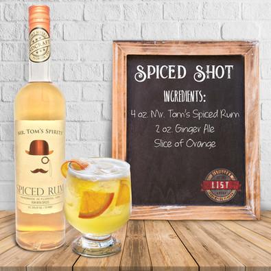 Mr. Tom's Spiced Shot