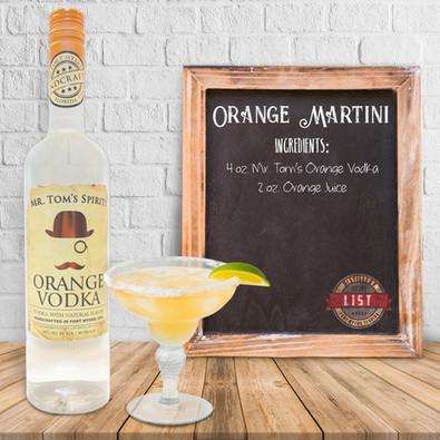 Mr. Tom's Orange Martini